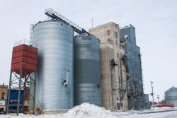 Equity Grain Elevator in Hillsboro, ND 2014/02/16