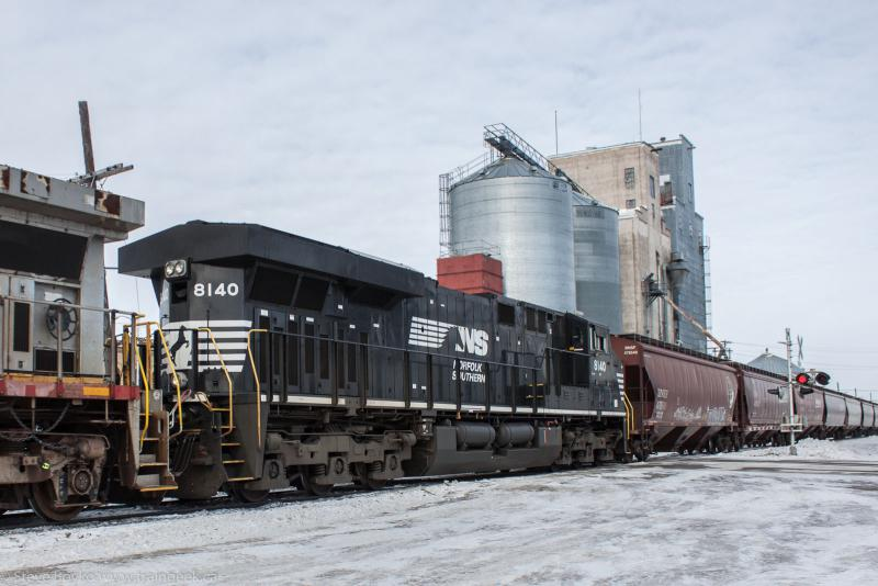 Norfolk Southern 8140 in Hillsboro