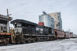 NS 8140 in Hillsboro, ND 2014/02/16