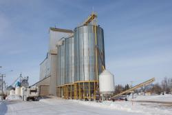 The St Jean Baptiste grain elevator 2014/02/23