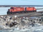 NBEC 1818 and 1849 at Chatham, NB 2006/03/29