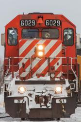 CP 6029 at Grande Pointe, MB 2014/03/09
