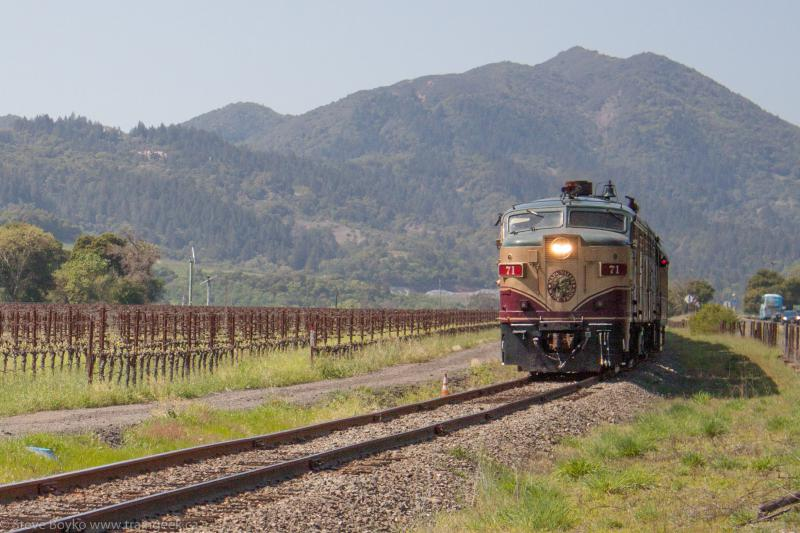 NVRR and the Wine Train