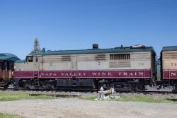 NVRR 70 on the Napa Valley Wine Train 2014/03/23