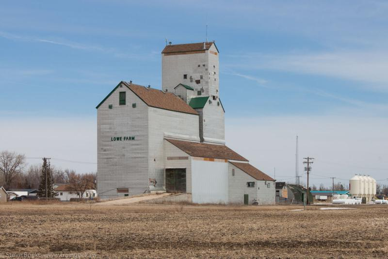 The Lowe Farm grain elevator