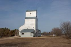 The Tyndall, Manitoba grain elevator 2014/04/27