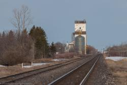 The Dugald grain elevator 2014/04/27