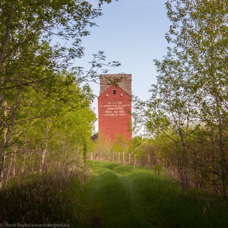 Helston grain elevator