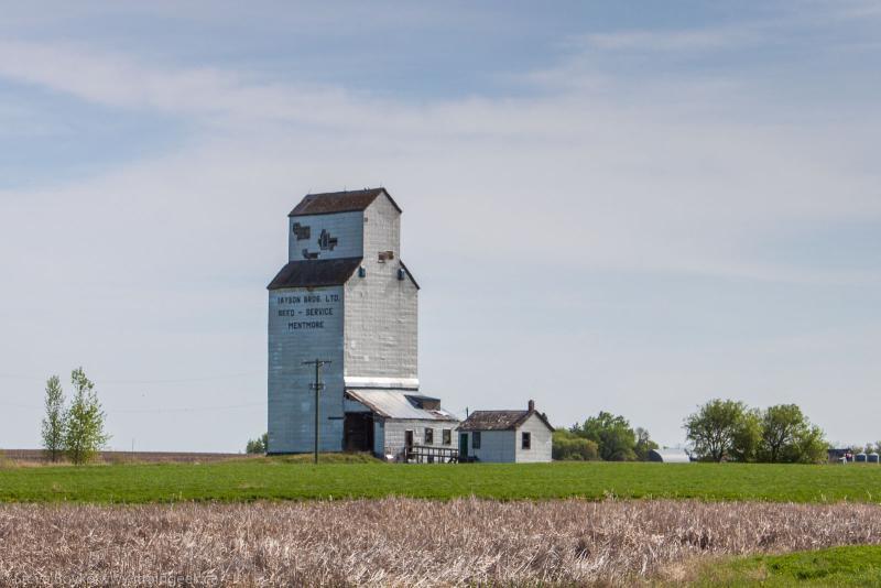Mentmore grain elevator
