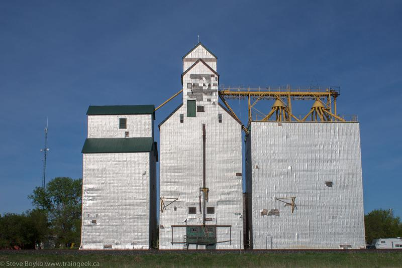 The Arden grain elevator