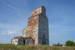 The Oberon grain elevator 2014/05/31