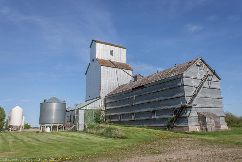 The Brookdale grain elevator