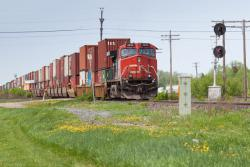 CN 2692 at Portage la Prairie, MB 2014/05/31