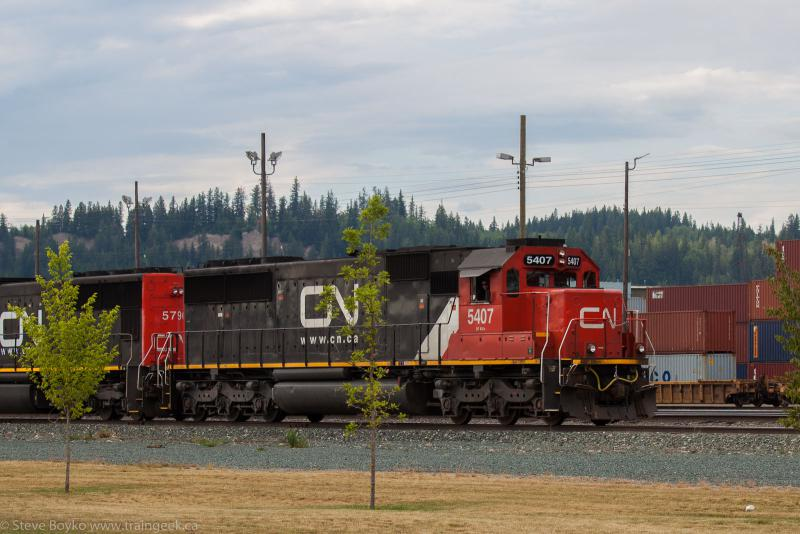 CN 5407 in Prince George, BC 2014/06/23