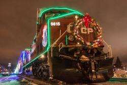 The CP Holiday Train in Winnipeg 2013/12/02