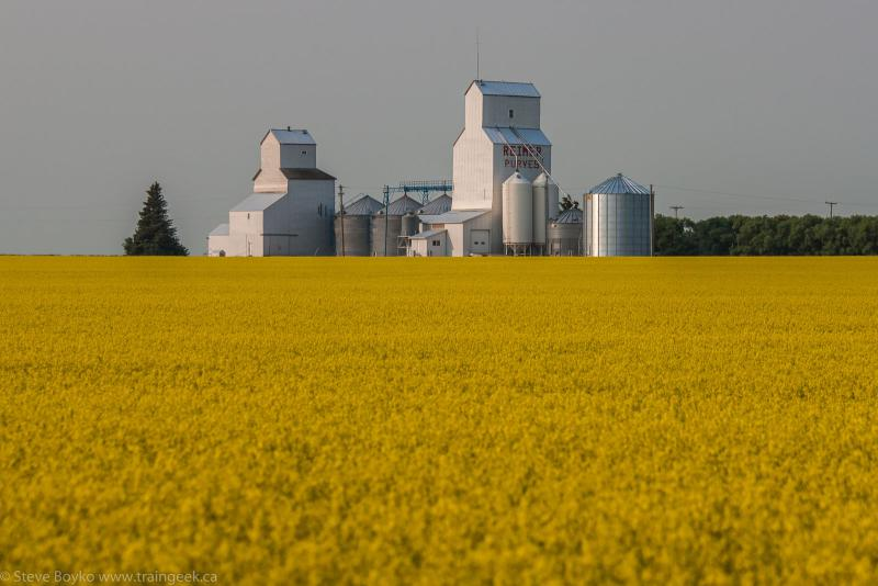 Purves grain elevator