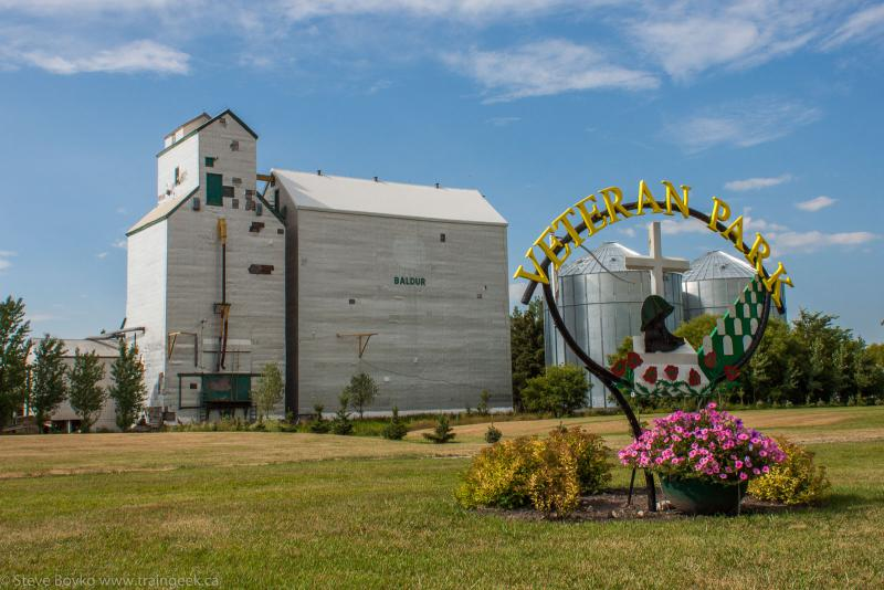 The Baldur grain elevator