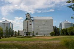 The Baldur, MB grain elevator 2014/08/08
