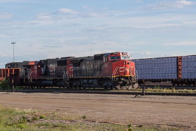 CN 2164 in Prince George, BC 2014/06/26