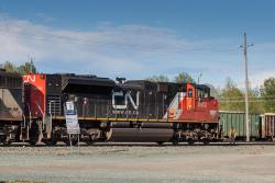 CN 8952 in Prince George, BC 2014/06/26