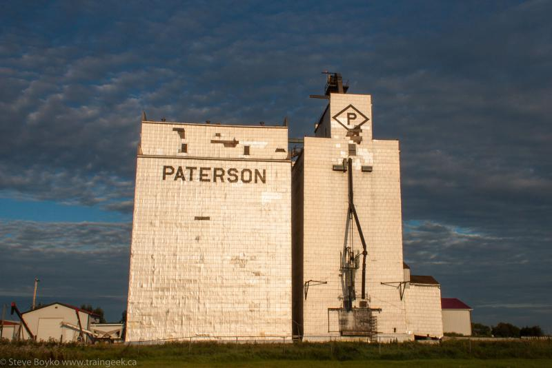 The Arborg grain elevator