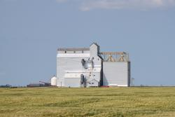 The Deloraine grain elevator 2014/08/08