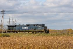 BC Rail 4645 in Winnipeg, MB 2010/09/25
