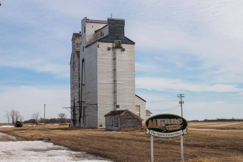 Kane grain elevator
