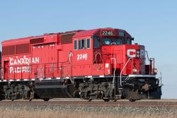 CP 2246 near Meadows, MB 2014/11/14