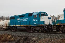 GMTX 2233 in Westfield-Grand Bay, NB 2014/12/12