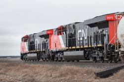 CN 2970 near Winnipeg 2015/04/02