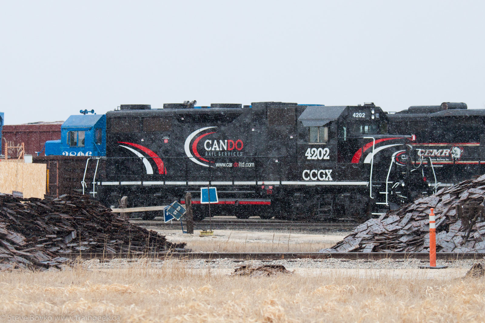CCGX 4202 in Winnipeg 2015/04/02