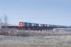 CN 2600 approaching Winnipeg 2015/04/02