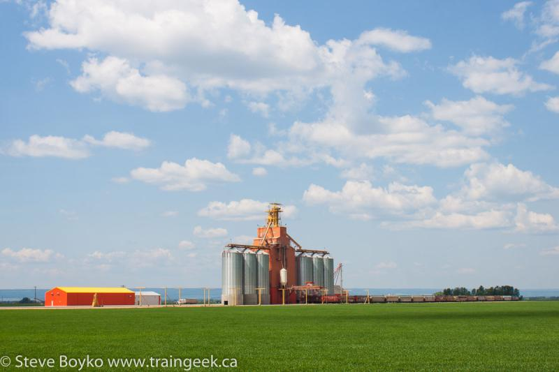 Swan River Valley grain elevator