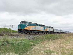 VIA 6446 in Winnipeg, MB 2016/05/12