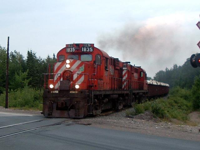 NBEC 1835 on the Nepisiguit Sub, 2006/07/17