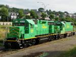 NBSR 2610 and 2318 in Saint John, NB 2007/08/17