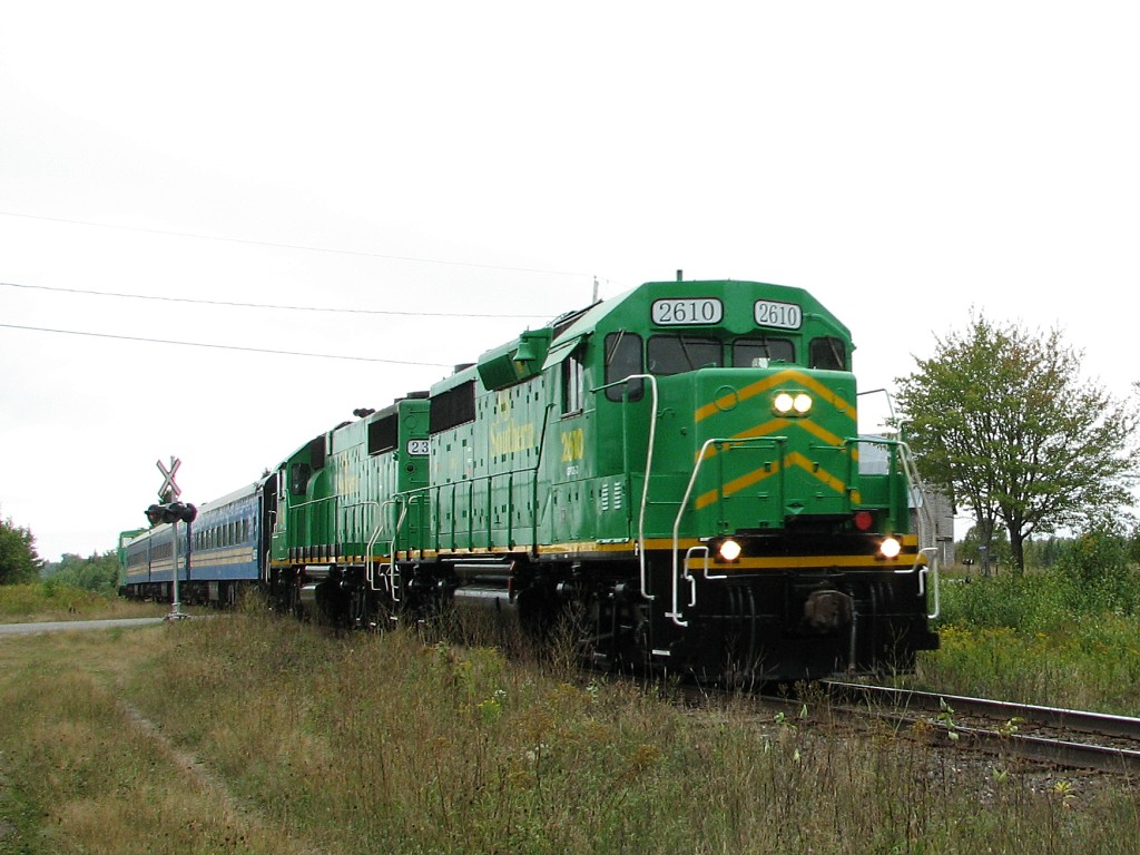 NBSR 2610 at Prince William Station, NB 2007/09/15