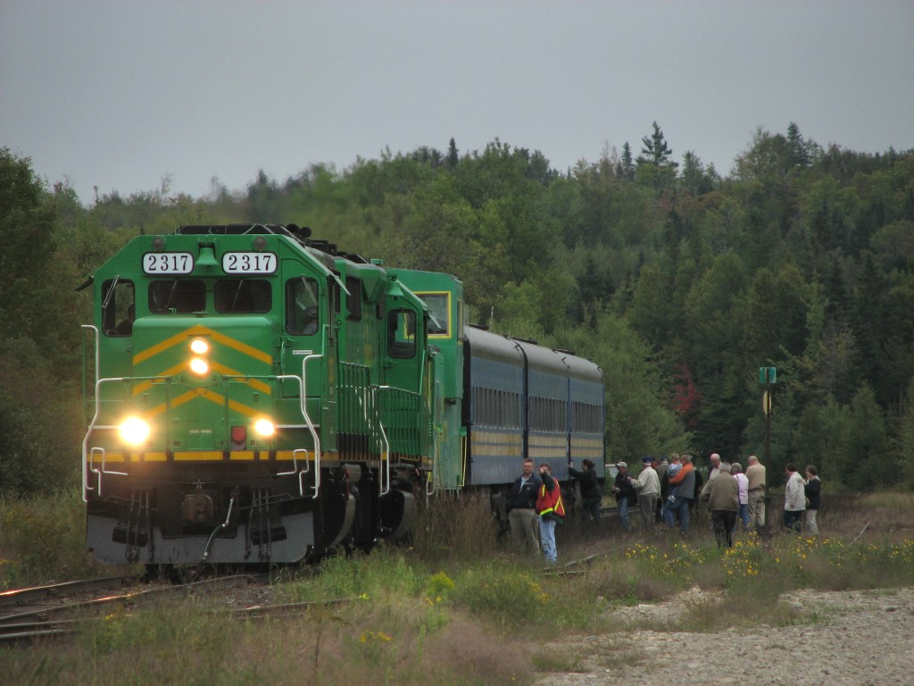 NBSR 2317 at Harvey, NB 2007/09/15
