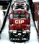 CP 1597 in Winnipeg, MB 2007/12/26