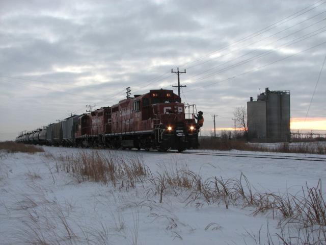 CP 1507 in Winnipeg, MB 2007/12/26