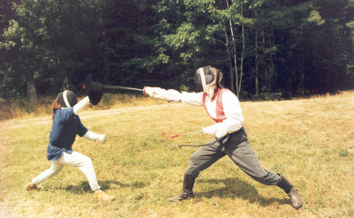 Fencing at the Feast of the Gemini, 1991