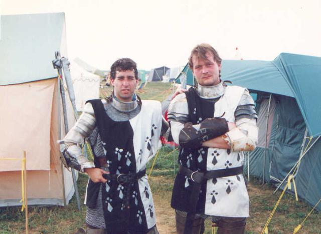 Pennsic XXI Marc and Dave