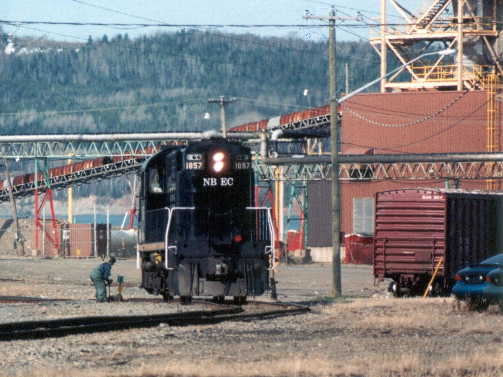 NBEC 1857 in Dalhousie, NB 1999/05/03