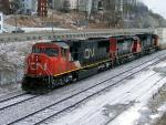 CN 5765 in Saint John, NB 2008/03/30. Photo by Kevin Gaudet.