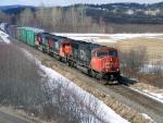 CN 5655 near Sussex, NB 2008/03/30 by Kevin Gaudet