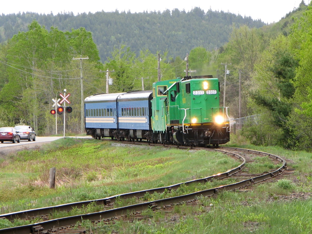 NBSR 2317 at Welsford, NB 2008/05/24
