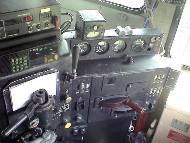 Control stand of NBEC 6900