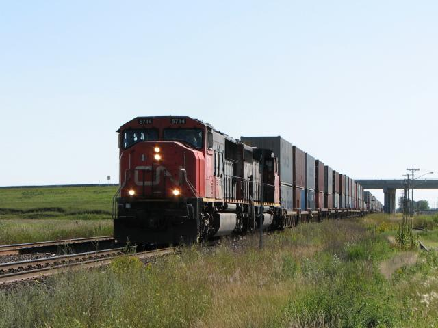 CN 5714 in Winnipeg, MB 2008/08/24