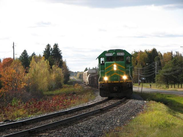 NBSR 2319 at Tracy, NB 2008/10/13